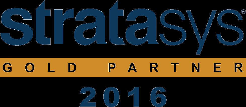Золотой партнер Stratasys 2016